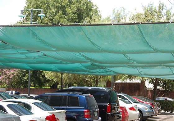parking lot safety nets